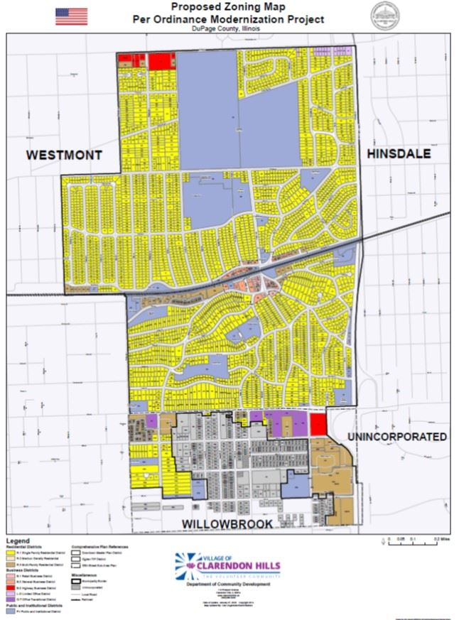 Proposed Comprehensive Zoning Map Amendment Opens in new window